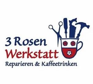 3 Rosen Werkstatt Logo