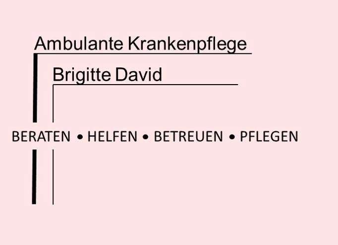 Brigitte David Logo