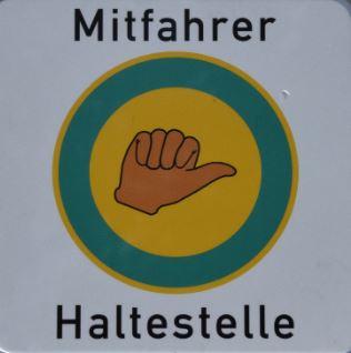 Mitfahrerbank logo 1